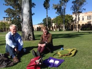 Johnny Grandjean G. Jakobsen (Tanska) ja Claire Renkin (Australia)
